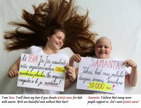 Paremkime akciją kovai su vėžiu